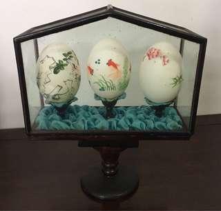 罕見!精緻雞蛋裝飾品