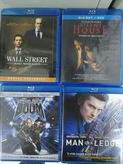 Bluray movie 20 disc lot 01 alabd