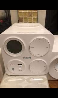 🚚 Philips飛利浦mp3/usb超迷你音響,mcm1055/96