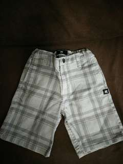 DC checkered pants