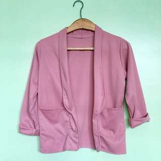Pink Office Blazer
