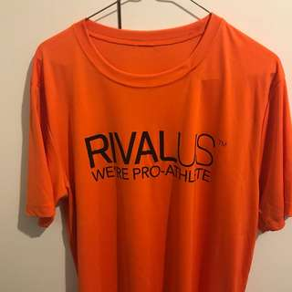 RivalAUS Gym/Sports Shirt signed BY UFC Champ