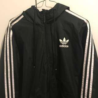 Adidas 3-Striped Windbreaker Jacket Very Rare!