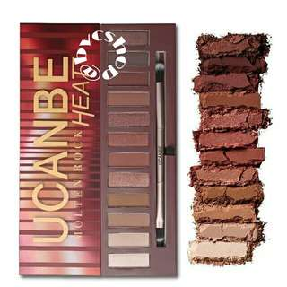 OPEN PO Ucanbe heat eyeshadow palette