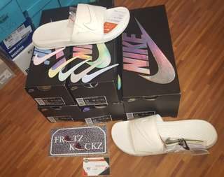 Nike Velcro Slides sz: 11 12 13 14
