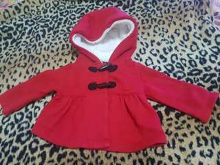 Carters hoody jacket (0-3mos)