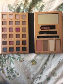 Eyeshadow/ bronzer/ highlighter/ lipstick/ mascara/ eyeliner