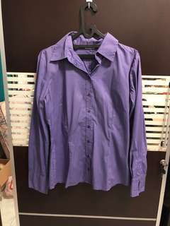 Purple office shirt