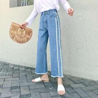 PO/Denim Culottes