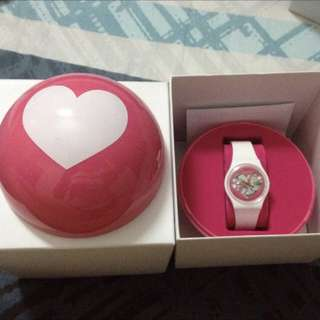 Limited edition swatch women's watch