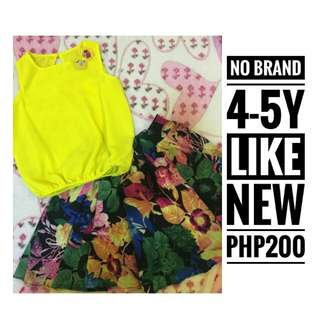 No Brand Terno for Girls
