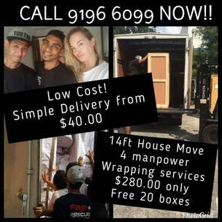 House Movers Delivery