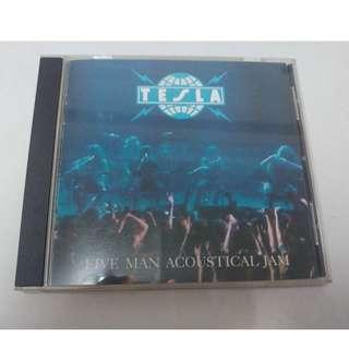 Tesla Five Man Acoustical Jam cd