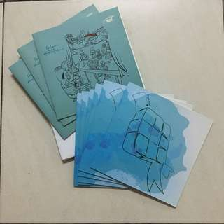 Kad Raya MRT. Hari Raya Card