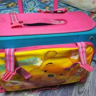 Winnie the pooh trolley bag