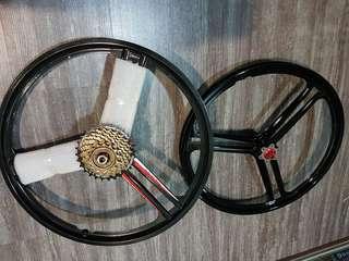 "Brand new 20"" folding bike magnisium wheel"