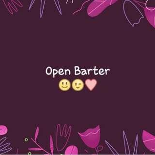Barter yuuuk😊😉