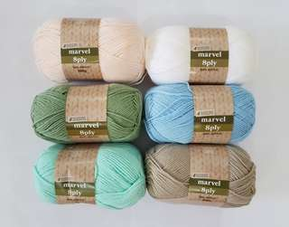 4 Seasons Marvel Acrylic Yarn 8ply
