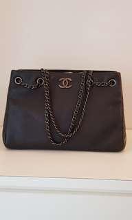 Chanel smoke blue hobo