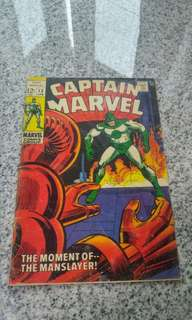 Captain Marvel #12 silver age marvel comic