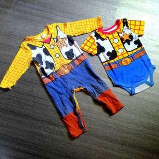 Sleepsuit & romper Woody Toy Story (6-12m)