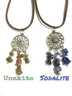 Dreamcatcher necklace