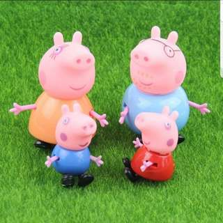 Peppa pig cake topper for cake display