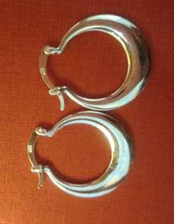 925 hoop earring