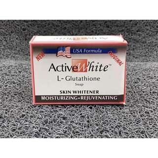 MAY 18 ACTIVE GLUTA WHITE SOAP (VSY)