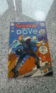 Hawk and Dove #3 silver age DC comics