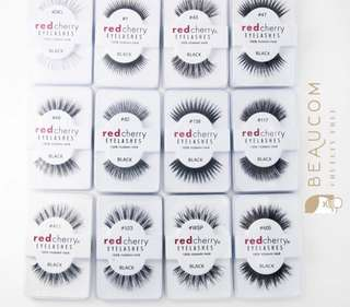 NEW INSTOCK Red Cherry Lashes Falsies Fake Lashes