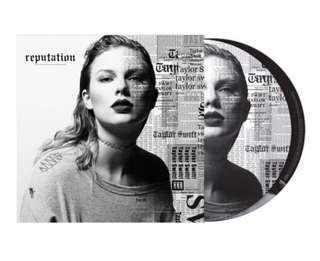 Taylor swift reputation vinyl picture disc