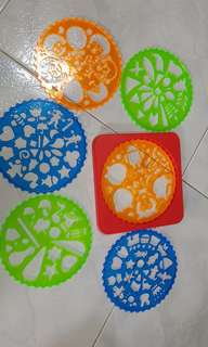 Design Stencils set