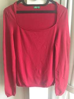 Benetton sweater blus ori - Made in Italy