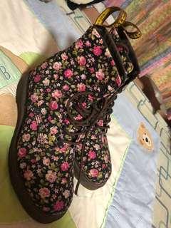 DMs Floral Boots