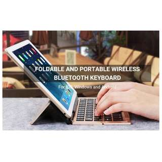 Foldable Wireless Bluetooth Keyboard - 摺合式無線藍芽鍵盤 - A0802