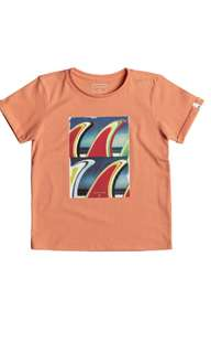 Quiksliver boys cotton knitted t shirt