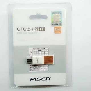 品勝OTG讀卡器 多功能TF MicroSD安卓智能手機otg讀卡器插卡式U盤