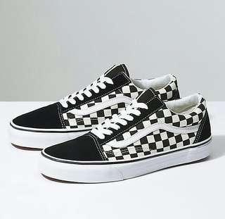 Vans oldskool checkerboard