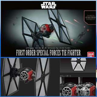 First Order Special Forces TIE Fighter 1/72 Bandai Model Kit