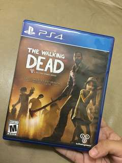 [PRICE REDUCED] PS4 WALKING DEAD (1st season) TELLTALE SERIES