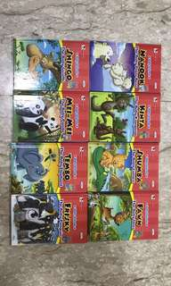 Robin Series. Baby animals (8 books)