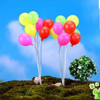 Balloons Toppers for Cake for Party Decoration