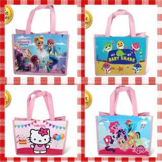1for$1.20 12for$14 Hello Kitty Baby Shark My Little Pony Shimmer & Shine Goodie Bag for Baby or Kids Birthday