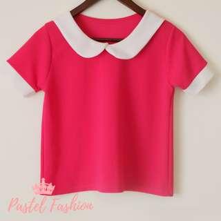 Shirt with collar design