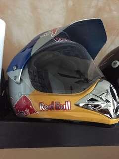 Red Bull full face helmet