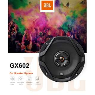 JBL GX602 CAR 6.5 INCH SPEAKER COAXIAL TWO-WAY 60 - 180W (BLACK) -free shipping