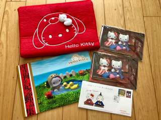 Hello Kitty 2006年紀念郵品集