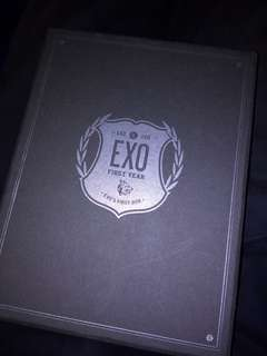 Exo First Year Box DVD