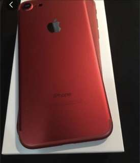 iPhone 7 32gb red 紅色 good condition 99new